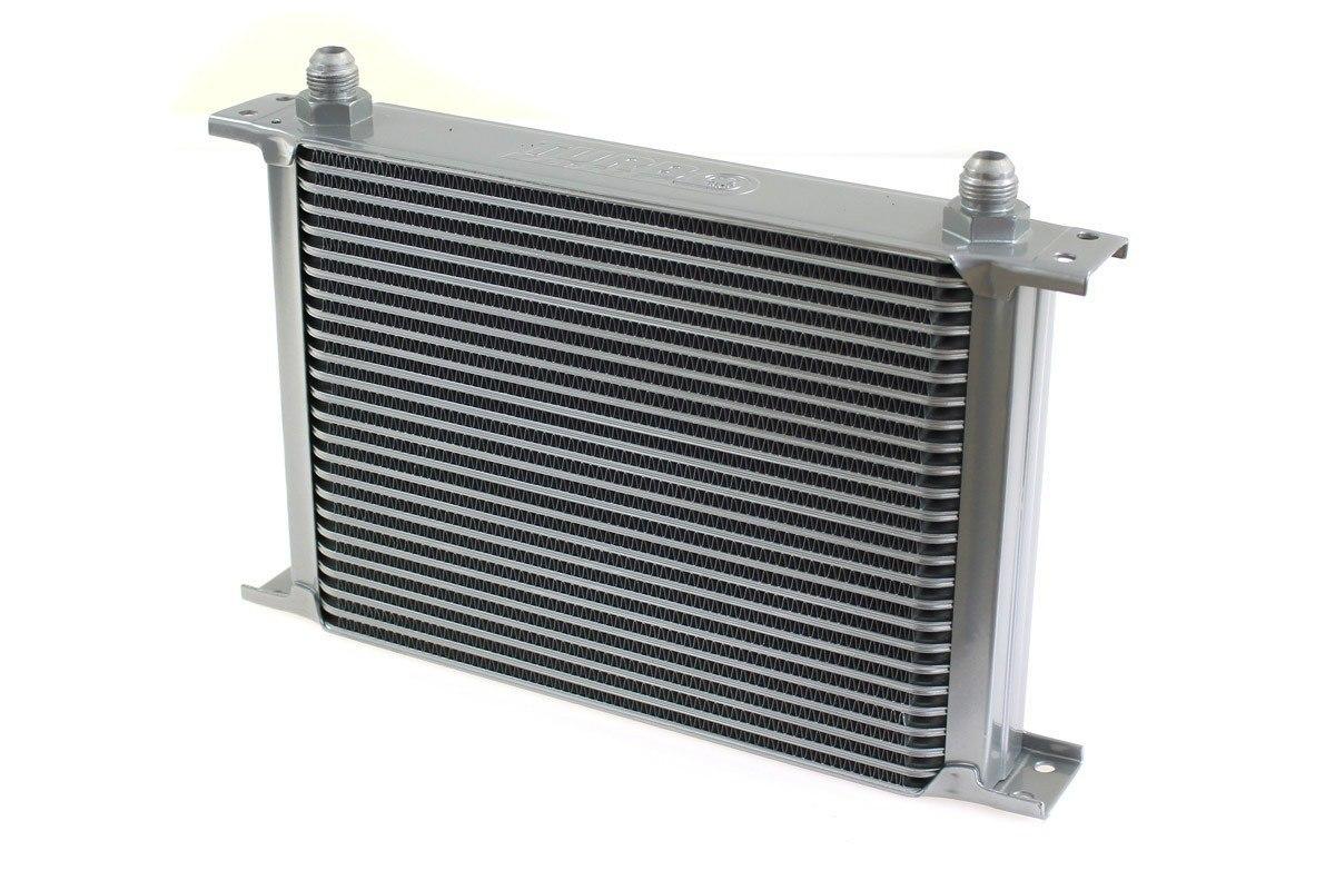 Chłodnica Oleju TurboWorks 25-rzędowa 260x195x50 AN10 silver - GRUBYGARAGE - Sklep Tuningowy
